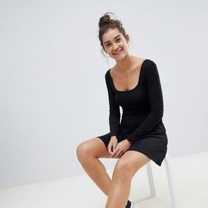 Asos super scoop skater dress